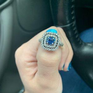 Jareds Jewelry Sapphire Engagement Ring Poshmark